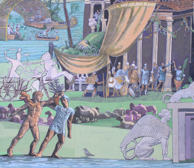 On the Nile, Roman Soldiers