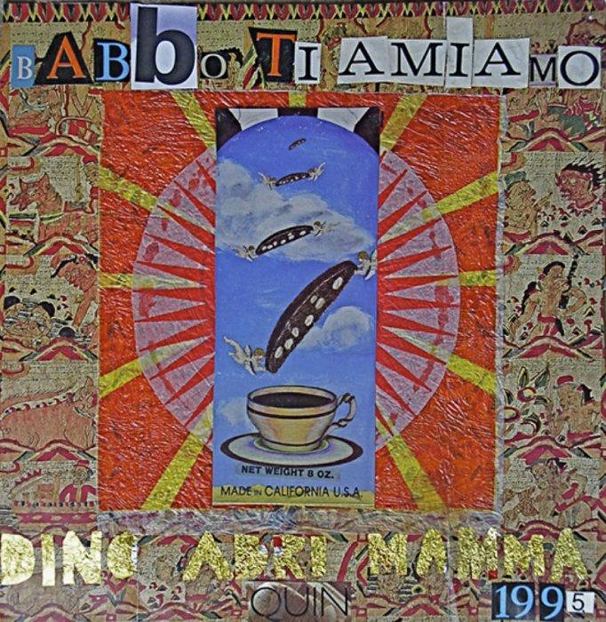 <em>Babbo 1995</em>, mixed media collage