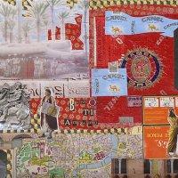 <em>Babbo 2010</em>, mixed media collage