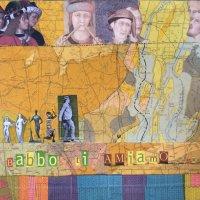 <em>Babbo 2016</em>, mixed media collage