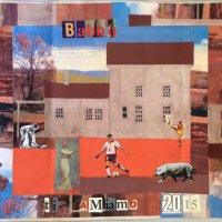 <em>Babbo 2015</em>, mixed media collage