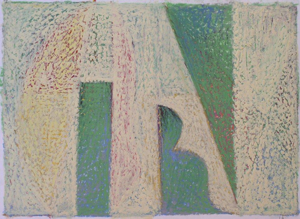<em>&num;14,</em> 2012, 12x16 inches, oil pastel on paper