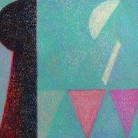 <em>&num;40,</em> 2014, 12x16 inches, oil pastel on paper