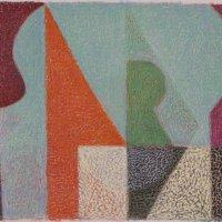 <em>&num;39,</em> 2014, 12x16 inches, oil pastel on paper