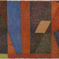 <em>&num;37,</em> 2014, 12x16 inches, oil pastel on paper