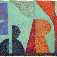<em>&num;36,</em> 2013, 12x16 inches, oil pastel on paper