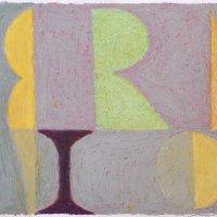 <em>&num;20,</em> 2012, 12x16 inches, oil pastel on paper