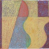 <em>&num;10,</em> 2012, 12x16 inches, oil pastel on paper