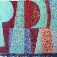 <em>&num;41,</em> 2014, 12x16 inches, oil pastel on paper