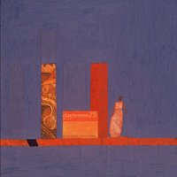 <em>Woman among Ruins,</em> 1979, 11x9 inches, mixed media with oil on board